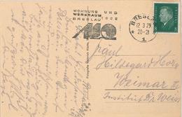 Breslau Ebert 12.3.1929 Wohnung Und Werkraum - Deutschland