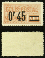 COLIS POSTAUX N° 37a Neuf N** Cote 25€ - Mint/Hinged