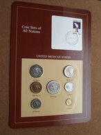 UNITED MEXICAN STATES ( From The Serie Coin Sets Of All Nations ) Card 20,5 X 29,5 Cm. ) + Stamp '85 ! - Mexique