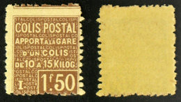 COLIS POSTAUX N° 50 TB Neuf N** Cote 40€ - Parcel Post