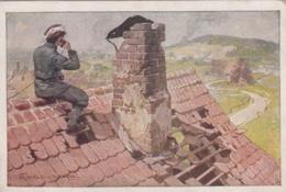 AK - Karte Rotes Kreuz - Nr.430 - Korporal Auf Beobachtungsposten - Rotes Kreuz