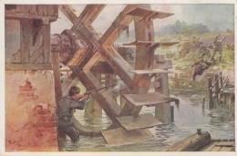AK - Karte Rotes Kreuz - Nr. 434 - Zugführer Schiesst Auf Feindliche Abteilung - Rotes Kreuz