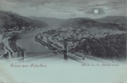 AK - Tschechien - Gruss Aus Tetschen - Mondscheinkarte - 1900 - Tschechische Republik