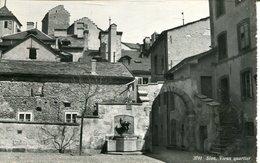 007234  Sion - Vieux Quartier  1959 - VS Wallis