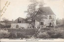 St LEOPARDIN D'AUGY : Le Port Barreau - Maison Du Passeur - Restaurant Et Pêche - France