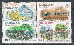 Bahamas  N° YVERT 454 455 461 463 NEUF ** - Bahamas (1973-...)