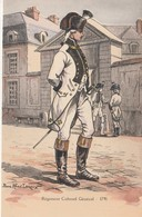 MILITARIA  ILLUSTRATEUR PIERRE ALBERT LEROUX REGIMENT COLONEL GENERAL 1791 - Uniformes