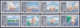 Dominica 1991 Geschichte History Entdeckung Discovery Kolumbus Columbus Schiffe Ships Diaz Da Gama, Mi. 1374-1 ** - Dominica (1978-...)