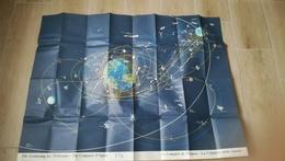 THE CONQUEST OF SPACE - DIE EROBERUNG DES WELTRAUMS - CONQUÊTE DE L'ESPACE - HALWAG UNIVERSUM KARTEN - 1969 - Cartes