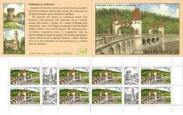 CZ 2019-1022 The Les Království Dam, CZECH, BOOKLET, MNH - Tchéquie