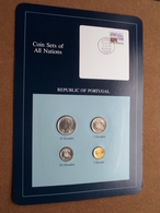 REPUBLIC OF PORTUGAL ( From The Serie Coin Sets Of All Nations ) Card 20,5 X 29,5 Cm. ) + Stamp '85 ! - Portugal
