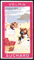 CHROMO Chocolat SUCHARD Fable La Fontaine Le Chien Qui Porte Le Diner De Son Maître   Dog  Serie 249 - Suchard