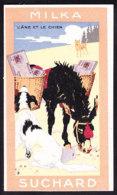 CHROMO Chocolat SUCHARD Fable La Fontaine L'âne & Le Chien Dunkey  Dog Serie 249 - Suchard