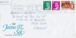 L4U291 Espagne L PA PALMA DE MALLORCA Pour Croix France06 03 1987/ Env. Entiere - 1931-Aujourd'hui: II. République - ....Juan Carlos I