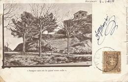 Recanati  P. Used 1901 To Hesdin Pas De Calais France Poor Condition . Defects - Italie