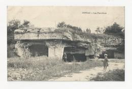 17 JONZAC - Les Pierrières - Animé - Cpa Charente Maritime - Jonzac