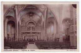 Chaulnes (Somme) Intérieur De L'église - Chaulnes