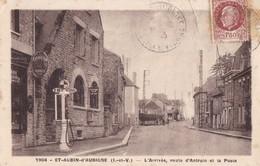SAINT-AUBIN D'AUBIGNE - L'Arrivée, Route D'Antrain Et La Poste - Other Municipalities