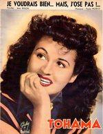 TOHAMA -1953 - JE VOUDRAIS BIEN MAIS J'OSE PAS - EXCELLENT ETAT COMME NEUVE - TRES BELLE PARTITION - - Other