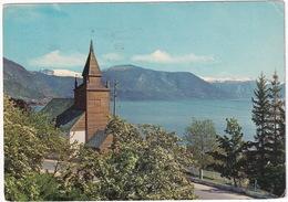 Sogn - Leikanger Kirke - (Norge/Norway) - 1967 - Noorwegen