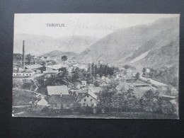 Jugoslawien / Slowenien 1922 AK Trbovlje Kleiner Ort Mit Industrie / Schornstein - Slowenien