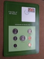 KINGDOM OF SWAZILAND ( From The Serie Coin Sets Of All Nations ) Card 20,5 X 29,5 Cm. ) + Stamp '83 ! - Swaziland