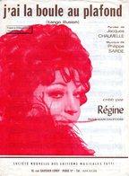 REGINE -1968 - J'AI LA BOULE AU PLAFOND - CHAUMELLE / SARDE -  EXC ETAT COMME NEUVE - - Autres