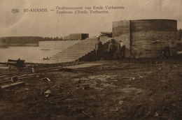 Sint Amanda's // Grafmonument Emile Verhaeren (niet Standaard) 19?? - Sint-Amands