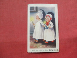 Children With Candles UK Stamp & Cancel    Ref 3221 - Other