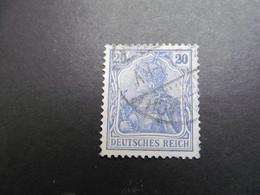 DR Nr.  87IIa, 1915, Germania, Gestempelt, BPP Geprüft, BS - Gebraucht