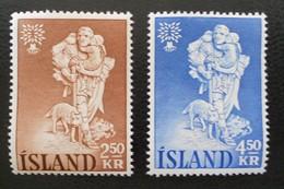 ANNEE MONDIALE DU REFUGIE 1960 - NEUFS ** - YT 299/00 - MI 340/41 - 1944-... Republik