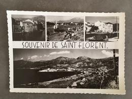 CORSE CPSM SAINT FLORENT SOUVENIR - Autres Communes
