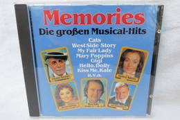 """CD """"Memories"""" Die Großen Musical-Hits - Musicals"""