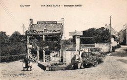 Fontaine -henry -      Restaurant  Maheu. - France