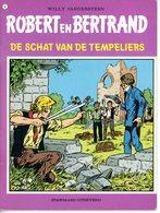 Robert En Bertrand 31 - De Schat Van De Tempeliers (1ste Druk) 1979 - Robert En Bertrand