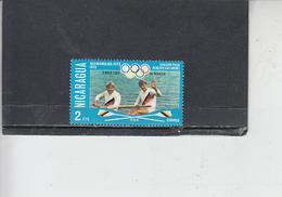 NICARAGUA  1976 - Yvert  1052 - Sport - Canottaggio - Canottaggio