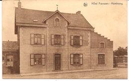 HÔTEL FRANSSEN  HOMBURG TIMBRE DEUTCHES REICH 19...?  591  / D6 - Plombières