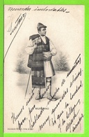 TIPO DE MURCIA - MURCIANO - Tarjeta Escrita En 1908 - Murcia