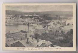 GIVET - Pont Provisoire Sur La Meuse - Givet