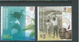 Cocos Keeling Island 2013 Barrel Mail Postage Set Of 2 MNH - Cocos (Keeling) Islands