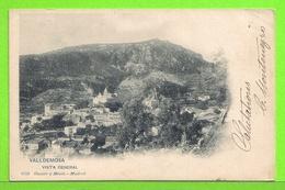 VALLDEMOSA - VISTA GENERAL - Tarjeta Escrita En 1903 - Palma De Mallorca