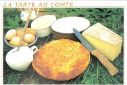 CPM DE LA RECETTE DE LA TARTE AU COMTE - Recettes (cuisine)