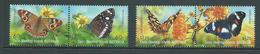 Cocos Keeling Island 2012 Butterfly Set Of 4 As 2 Pairs MNH - Cocos (Keeling) Islands