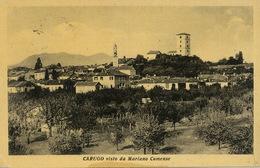 Carugo Como Visto Da Mariano Comense  . P. Used To Pedretti Libiate Milano 1951 - Autres Villes