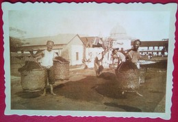 Chinese Laborers At Turn Of The Century Philippines - Philippines