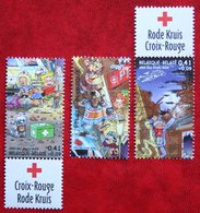 Rode Kruis Red Cross Rotes Kreuz OBC N° 3163-3165 (Mi 3211-3213) 2003 POSTFRIS MNH ** BELGIE BELGIEN / BELGIUM - Belgien