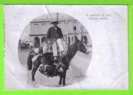 EL VENDADOR DE AVES - Tarjeta Virgen # 1903 -  Fotos Anverso Y Reverso - Cuba