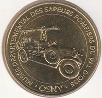 MONNAIE DE PARIS 95 OSNY Osny - Musée Départemental Des Sapeurs Pompiers Du Val D'Oise 2018 - 2018
