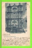 SANTIAGO DE COMPOSTELA - SAN MARTIN - Tarjeta Escrite En 1903 - Santiago De Compostela