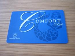 Greece Crete Elounda Beach Comfort Hotel Room Key Card (sirene Mermaid) - Cartes D'hotel